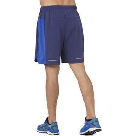 asics 2-N-1 Spodenki do biegania Mężczyźni, indigo blue/illusion blue